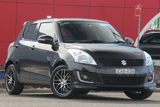 Used Suzuki Swift FZ MY14 GL Navigator, 2014 Suzuki Swift FZ MY14 GL Navigator Black 4 Speed Automatic Hatchback