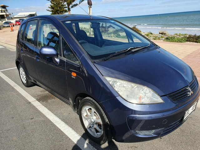 Used Mitsubishi Colt RG MY08 ES Morphett Vale, 2008 Mitsubishi Colt RG MY08 ES Blue 5 Speed Manual Hatchback