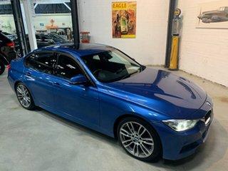 2013 BMW 320i F30 MY1112 320i Blue 8 Speed Sports Automatic Sedan.