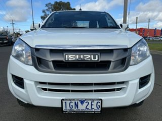 2015 Isuzu D-MAX MY15 SX Space Cab 4x2 High Ride White 5 Speed Sports Automatic Utility