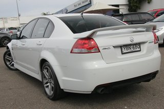 2012 Holden Commodore VE II MY12 SV6 White 6 Speed Sports Automatic Sedan
