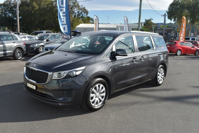 Used Kia Carnival YP MY17 S, 2017 Kia Carnival YP MY17 S Grey 6 Speed Sports Automatic Wagon