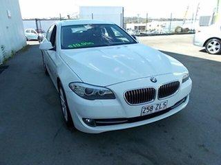 2012 BMW 520d White 4 Speed Automatic Sedan