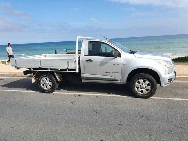 Used Holden Colorado RG MY13 DX, 2013 Holden Colorado RG MY13 DX Silver 5 Speed Manual Cab Chassis