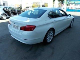 2012 BMW 520d White 4 Speed Automatic Sedan.