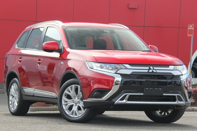 Used Mitsubishi Outlander ZL MY19 ES 2WD, 2019 Mitsubishi Outlander ZL MY19 ES 2WD Red 6 Speed Constant Variable Wagon