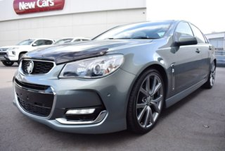 2015 Holden Commodore VF II MY16 SV6 Grey 6 Speed Manual Sedan.