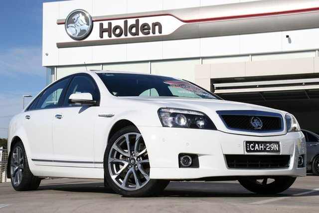 Used Holden Caprice WN II MY17 V, 2017 Holden Caprice WN II MY17 V White 6 Speed Sports Automatic Sedan