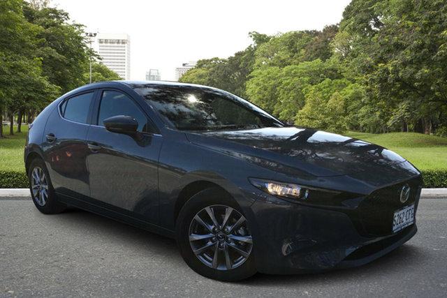 Demo Mazda 3 BP2H7A G20 SKYACTIV-Drive Pure, 2020 Mazda 3 BP2H7A G20 SKYACTIV-Drive Pure Polymetal Grey 6 Speed Sports Automatic Hatchback