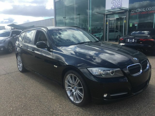 Used BMW 3 Series E91 MY11 320d Touring Steptronic Lifestyle, 2012 BMW 3 Series E91 MY11 320d Touring Steptronic Lifestyle Black 6 Speed Sports Automatic Wagon