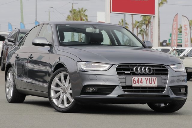 Used Audi A4 B8 8K MY15 Ambition S Tronic Quattro, 2014 Audi A4 B8 8K MY15 Ambition S Tronic Quattro Gun Metal 7 Speed Sports Automatic Dual Clutch