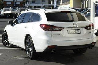 2017 Mazda 6 GL1021 Atenza SKYACTIV-Drive White 6 Speed Sports Automatic Sedan.