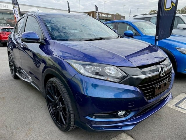 Used Honda HR-V MY15 Limited Edition, 2015 Honda HR-V MY15 Limited Edition Blue 1 Speed Constant Variable Hatchback