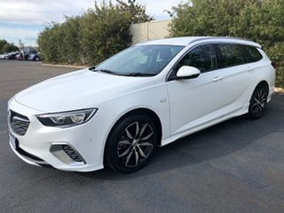 2018 Holden Commodore ZB MY18 RS Sportwagon Summit White 9 Speed Sports Automatic Wagon