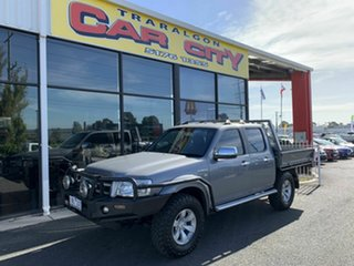2007 Ford Ranger PJ XLT (4x4) Grey 5 Speed Automatic Dual Cab Pick-up.