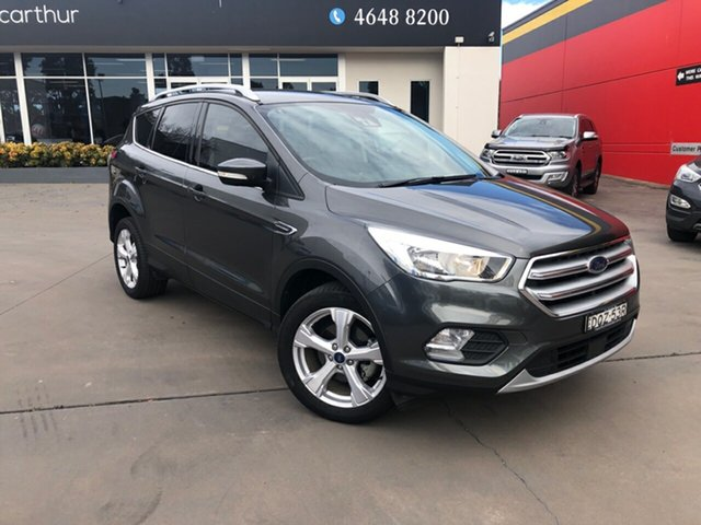 Used Ford Escape ZG Trend 2WD, 2017 Ford Escape ZG Trend 2WD Grey 6 Speed Sports Automatic SUV