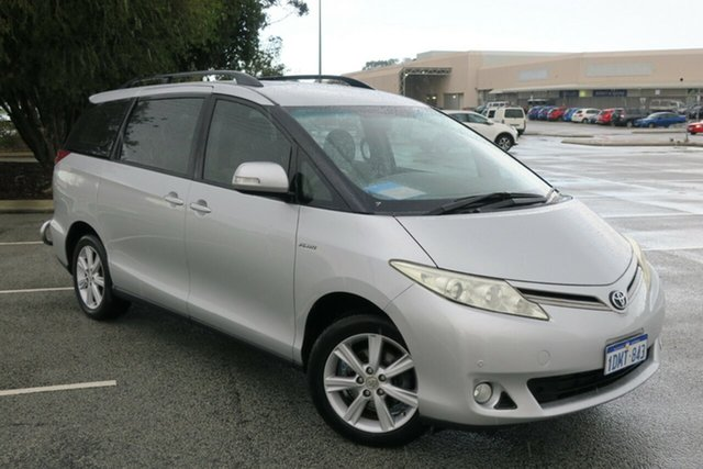 Used Toyota Tarago GSR50R MY09 GLX, 2010 Toyota Tarago GSR50R MY09 GLX Silver 6 Speed Sports Automatic Wagon