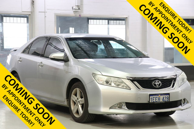 Used Toyota Aurion GSV50R Touring SE, 2012 Toyota Aurion GSV50R Touring SE Silver 6 Speed Automatic Sedan