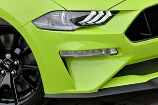 2019 Ford Mustang FN 2020MY GT Green 10 Speed Sports Automatic Convertible