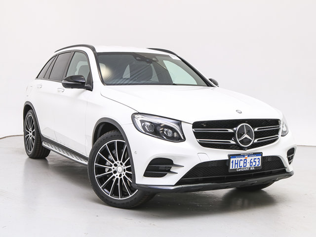 Used Mercedes-Benz GLC250D 253 , 2016 Mercedes-Benz GLC250D 253 White 9 Speed Automatic Wagon