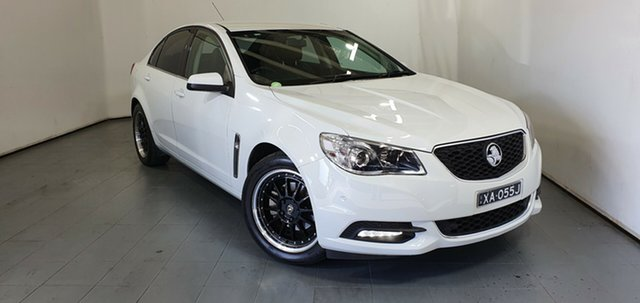 Used Holden Commodore VF MY14 International, 2013 Holden Commodore VF MY14 International White 6 Speed Sports Automatic Sedan