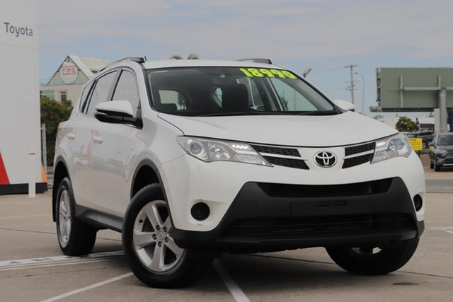 Used Toyota RAV4 ZSA42R GX 2WD, 2013 Toyota RAV4 ZSA42R GX 2WD Glacier White 7 Speed Constant Variable Wagon