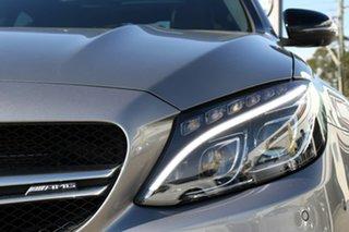 2016 Mercedes-Benz C63 W205 806+056MY AMG SPEEDSHIFT MCT S Palladium Silver 7 Speed Sports Automatic