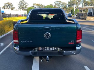2019 Volkswagen Amarok 2H MY19 TDI580 4MOTION Perm Ultimate Green 8 Speed Automatic Utility