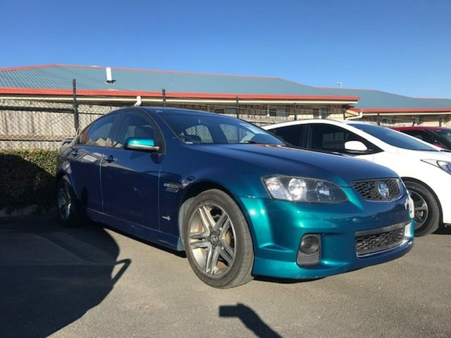 Used Holden Commodore VE II MY12 SV6, 2011 Holden Commodore VE II MY12 SV6 Green 6 Speed Sports Automatic Sedan