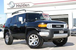 2014 Toyota FJ Cruiser GSJ15R MY14 Black 5 Speed Automatic Wagon.