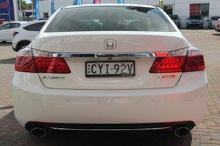 2015 Honda Accord 9th Gen MY15 V6L White 6 Speed Sports Automatic Sedan