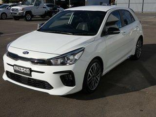 2018 Kia Rio YB MY19 GT-Line DCT White 7 Speed Sports Automatic Dual Clutch Hatchback