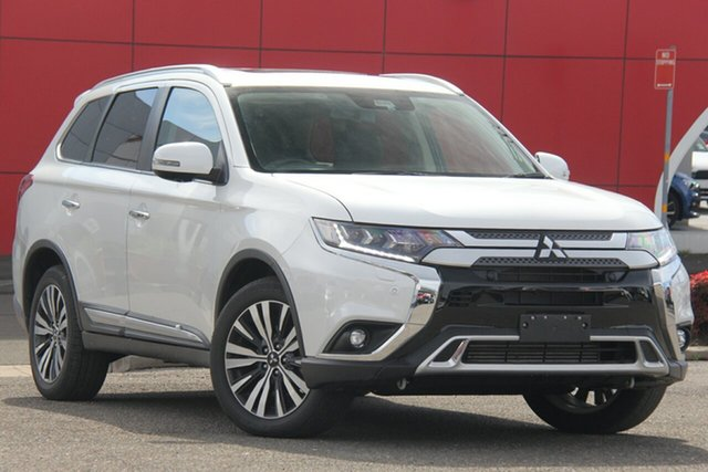 Used Mitsubishi Outlander ZL MY19 Exceed AWD, 2019 Mitsubishi Outlander ZL MY19 Exceed AWD White 6 Speed Constant Variable Wagon