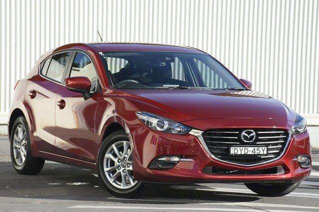 Used Mazda 3 BN5478 Maxx SKYACTIV-Drive Sport, 2018 Mazda 3 BN5478 Maxx SKYACTIV-Drive Sport Red 6 Speed Sports Automatic Hatchback