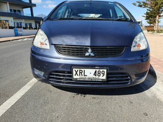 2008 Mitsubishi Colt RG MY08 ES Blue 5 Speed Manual Hatchback
