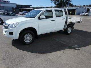 2015 Isuzu D-MAX MY15 SX Crew Cab 4x2 High Ride White 5 Speed Sports Automatic Cab Chassis