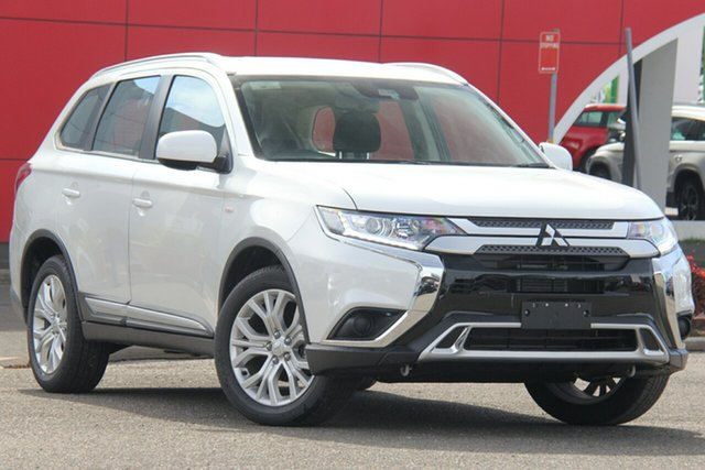 Used Mitsubishi Outlander ZL MY20 ES AWD ADAS, 2019 Mitsubishi Outlander ZL MY20 ES AWD ADAS White 6 Speed Constant Variable Wagon