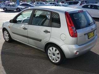 2006 Ford Fiesta WQ LX Silver 4 Speed Automatic Hatchback