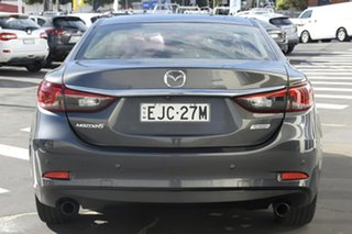 2014 Mazda 6 GJ1031 MY14 Atenza SKYACTIV-Drive Grey 6 Speed Sports Automatic Sedan