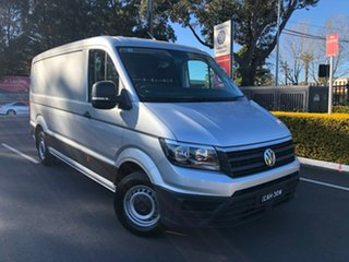2019 Volkswagen Crafter SY1 MY20 35 MWB FWD TDI340 Silver 8 Speed Automatic Van.