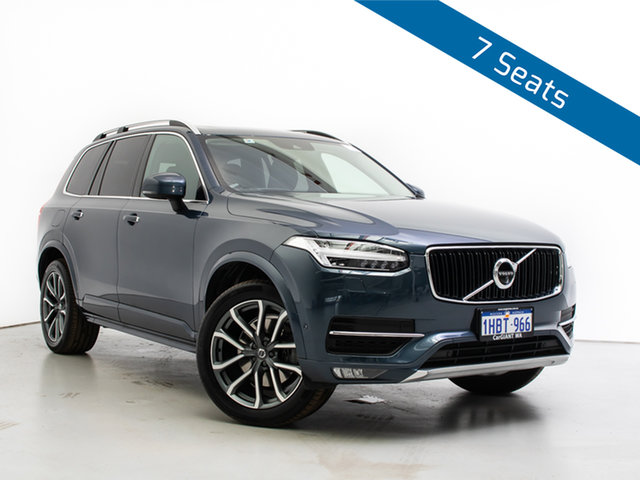 Used Volvo XC90 256 MY19 D5 Momentum (AWD), 2019 Volvo XC90 256 MY19 D5 Momentum (AWD) Blue 8 Speed Automatic Geartronic Wagon