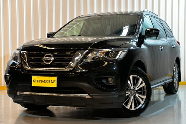 Used Nissan Pathfinder R52 Series II MY17 ST-L X-tronic 4WD, 2018 Nissan Pathfinder R52 Series II MY17 ST-L X-tronic 4WD Black 1 Speed Constant Variable Wagon