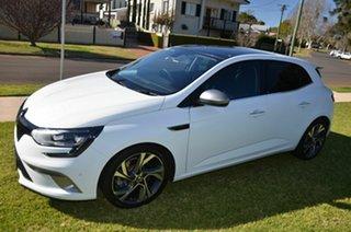 2016 Renault Megane BFB GT 205 White 7 Speed Auto Dual Clutch Hatchback