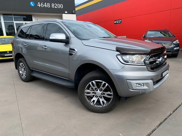 Used Ford Everest UA Trend RWD, 2017 Ford Everest UA Trend RWD Silver 6 Speed Sports Automatic SUV