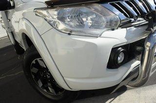 2015 Mitsubishi Triton MQ MY16 GLX White 6 Speed Manual Cab Chassis.