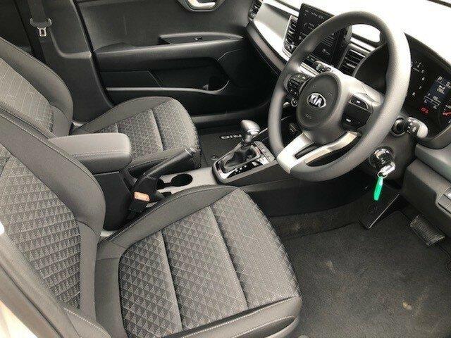 Demo Kia Rio YB MY21 S, 2020 Kia Rio YB MY21 S Silky Silver 6 Speed Automatic Hatchback