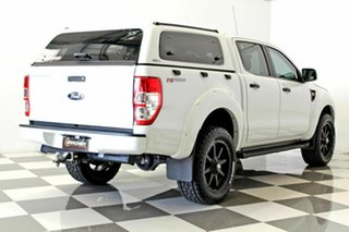 2015 Ford Ranger PX XL 2.2 Hi-Rider (4x2) White 6 Speed Automatic Crew Cab Pickup