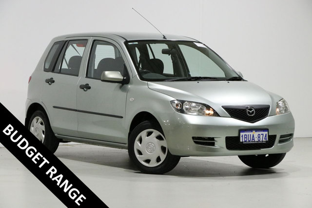 Used Mazda 2 DY Neo, 2004 Mazda 2 DY Neo Silver 5 Speed Manual Hatchback