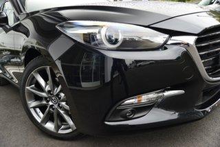 2018 Mazda 3 SP25 Astina Black 6 Speed Automatic Sedan.