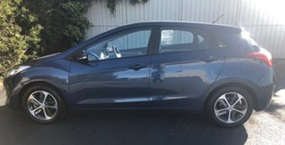 2015 Hyundai i30 GD3 Series II MY16 Active X Dazzling Blue 6 Speed Sports Automatic Hatchback